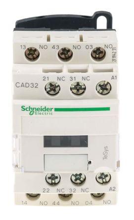 Schneider CAD32B7 Cntrl Rly 24V 50/60Hz
