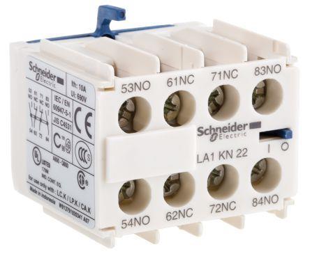 Schneider LA1KN22 Aux Contact Block