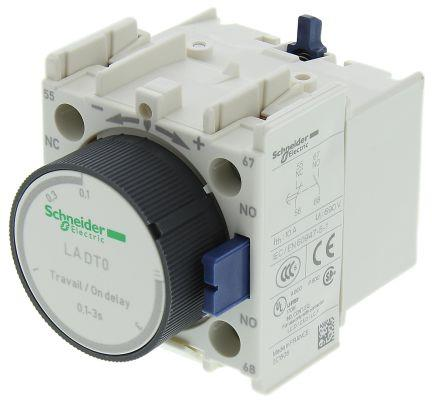 Schneider LADT0 Time Delay Aux Con Block