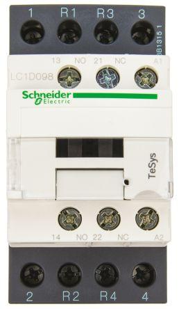 Schneider LC1D098F7 Contactor 20A 110V 50/60Hz