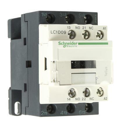 Schneider LC1D09F7 Contactor 9A 110V 50/60Hz
