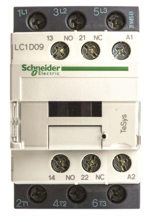 Schneider LC1D09N7 Contactor 9A 415V 50/60Hz