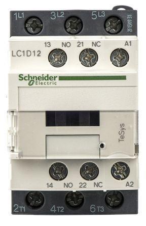 Schneider LC1D12F7 Contc 12A 110V50/60Hz