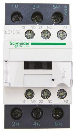 Schneider LC1D32B7 Contactor 24V 50/60Hz