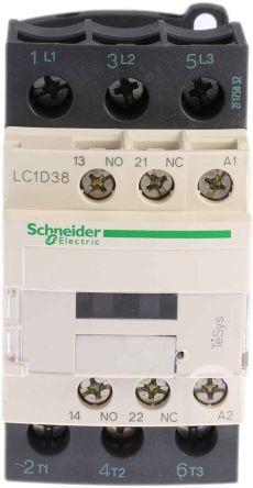 Schneider LC1D38E7 Contactor 48V 50/60Hz