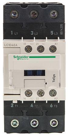 Schneider LC1D40AE7 Contactor 40A 48V