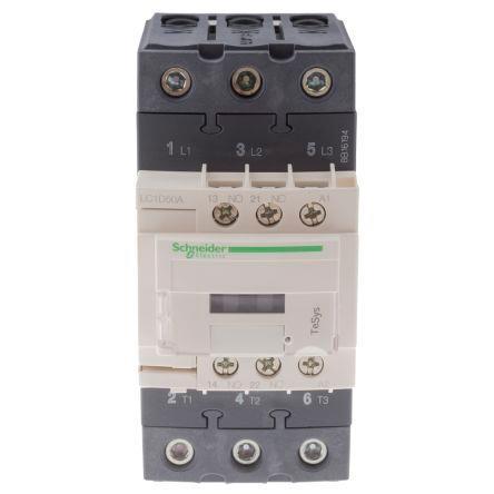 Schneider LC1D50AE7 Contactor 50A 48V