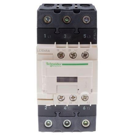 Schneider LC1D65AE7 Contactor 65A 48V