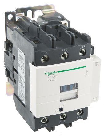 Schneider LC1D80E7 Contactor 48V 50/60Hz