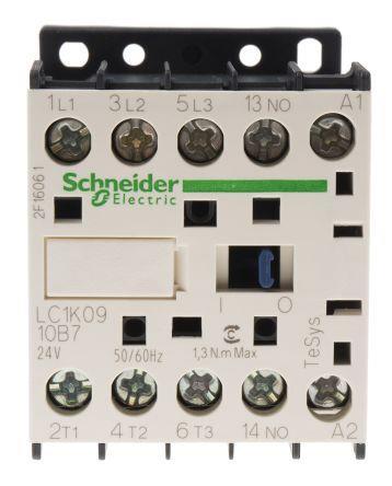 Schneider LC1K0910B7 Contactor 9A 24V