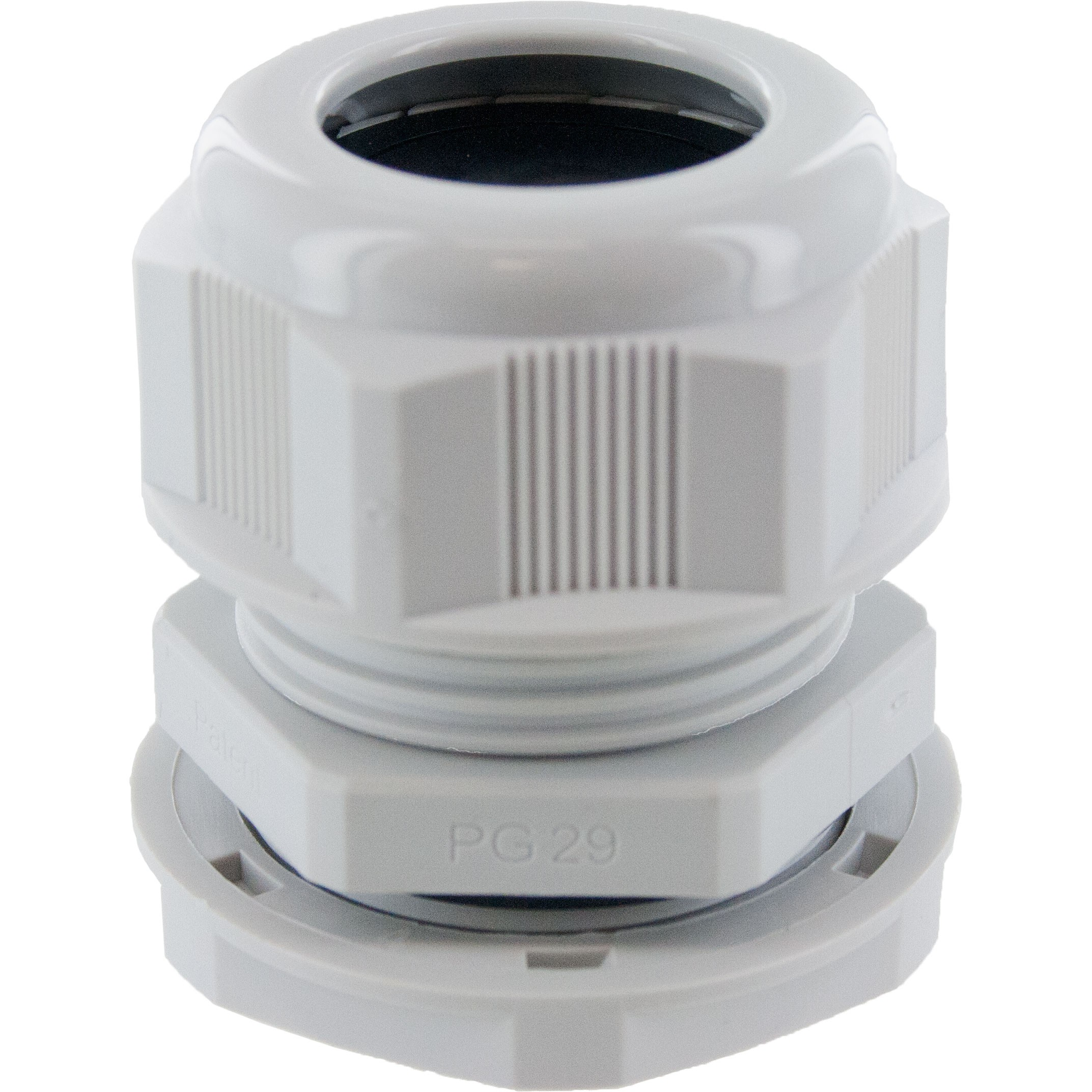 PG13.5 Nylon Cable Gland Grey